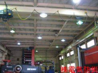 水銀灯改修及び2次電源工事